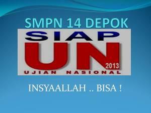 SMPN 14 DEPOK1