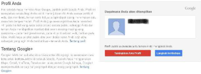 edit profil gmail